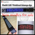 New! Programed LED watchband flexible digital display