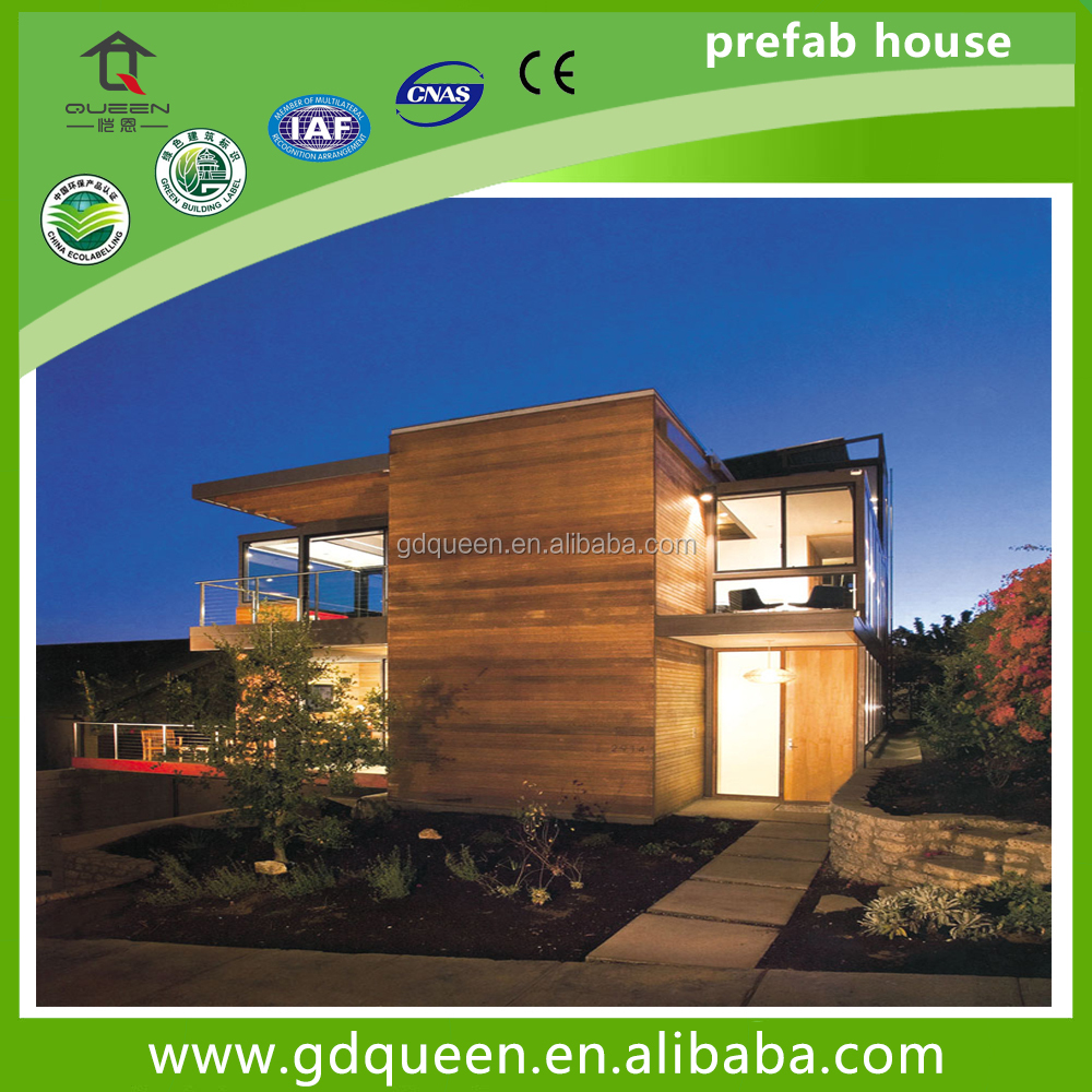 Low cost modern steel structure prefab houses