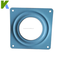 360 Degree Turnable Square Metal Lazy Susan Swivel Plate KYF011