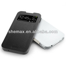 Slim Genuine Leather Pouch For Samsung Galaxy S4 Cases