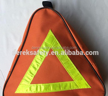 See larger image customized red triangle car safety emergency auto safety kit tool tool kit bag