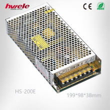 HS-200E LED 220v 12v transformer for LED street light with CE ROHS
