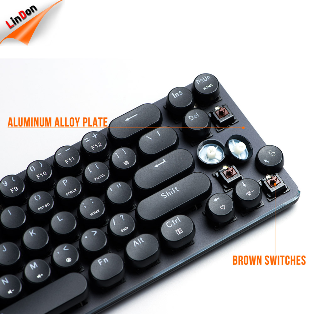 Buy Compact LED Backlit Ergonomic MX Switch Keyboard