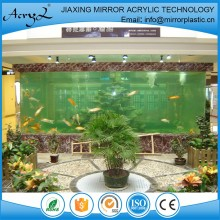 Fashionable big acrylic aquarium fish tank manufacturer jiaxing