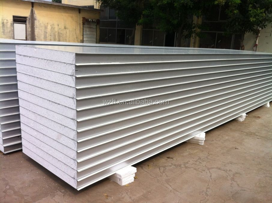 China manufacturer EPS sandwich panels for cleanroom