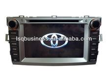Car stereo for Toyota Verso with Iphone4/GPS navigation/Bluetooth driver,ST-8702