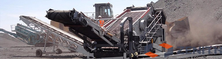 ZENITH mobile primary crusher, mobile crusher, Mobile jaw Crusher