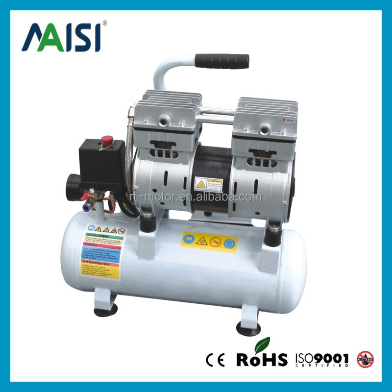 electric air compressor, piston air compressor without oil