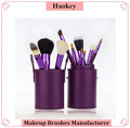 New design best quality 12pcs makeup brushes with high-end package