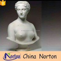 greek myth marble bust of naked woman for sale NTMS-B028Y