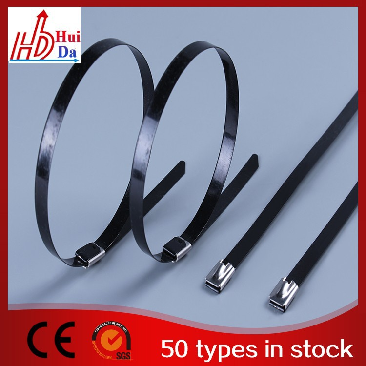 PVC Coated Stainless Steel Cable Ties Cable Tie Tag