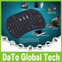 50pcs Free DHL 2.4G Mini Rii i8 Wireless Keyboard With Touchpad Fly Air Mouse for Andriod MXQ TV Box