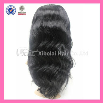 100% Indian Human Hair Virgin Huma Hair Lace Wigs