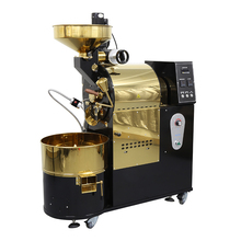 Professional 3kg coffee bean roaster machine electrical with 4 motors