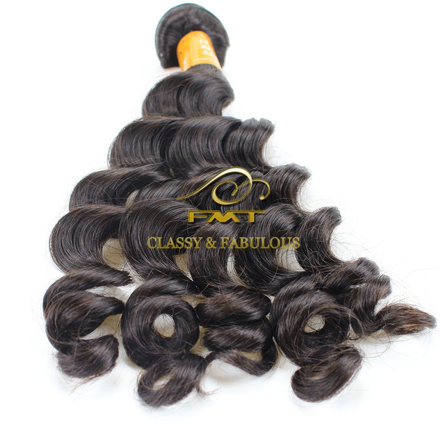 Hot Selling Top Quality Brazilian/Indian/Peruvian Wavy Virgin Remy Weave Hair Extensions