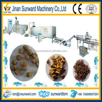 Small production floating fish food pellets process equipment