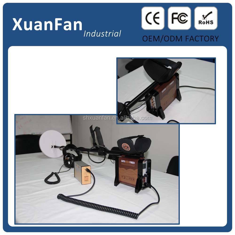 GFX-7000 gold finder machine deep underground searching metal Detector, deep gold metal detector