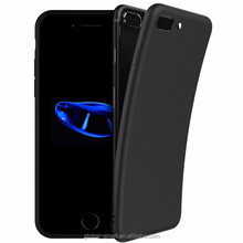 Newest Black Matt Grossy finishing Protective Anti Shock Phone Case for iPhone 7 Slim TPU cover case