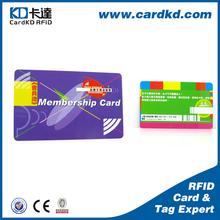 Guaranteed Quality wholesale price offset printing spot UV pvc id card with different faecures