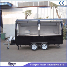 JX-FR350 Jiexian CE qualified outdoor mobile camper trailer stainless steel kitchen for sale with competitive price