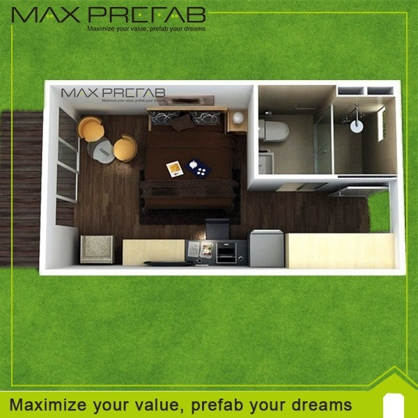 trailer prebuilt container houses