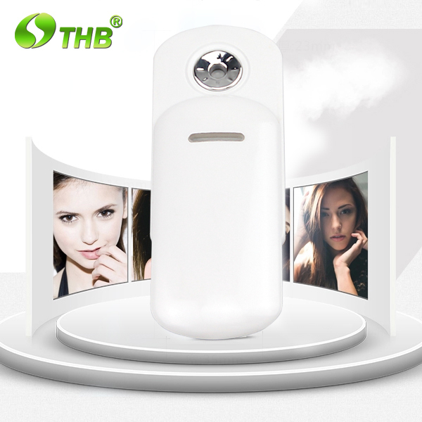 Portable mini facial handy mist spray device for dry skin skin care