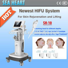 China manufacturer hifu high intensity focused ultrasound for skin tightening