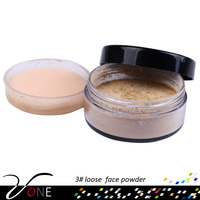 PL#3 hot sale single loose face powder with well concealing and water proof