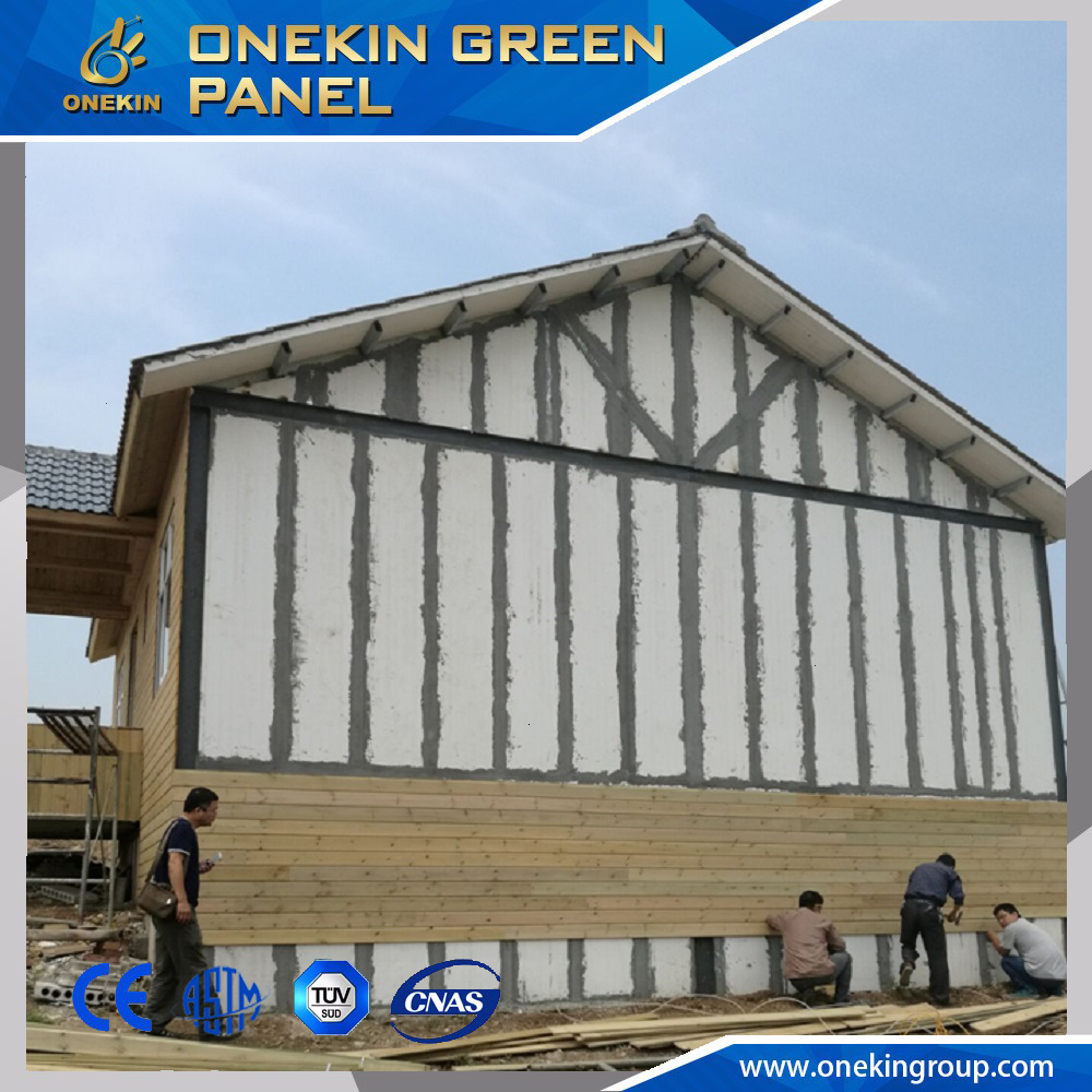 Onekin low-cost housing ready made partition walls for india