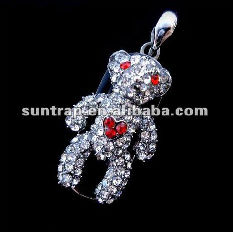 Dog shape for diamond usb flash drive crystal gift fop girl hot sale top sale cheap whole sale cheap sale