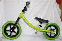 12inch perfect light steel aluminum balance bike for 3 to 6 years old kids
