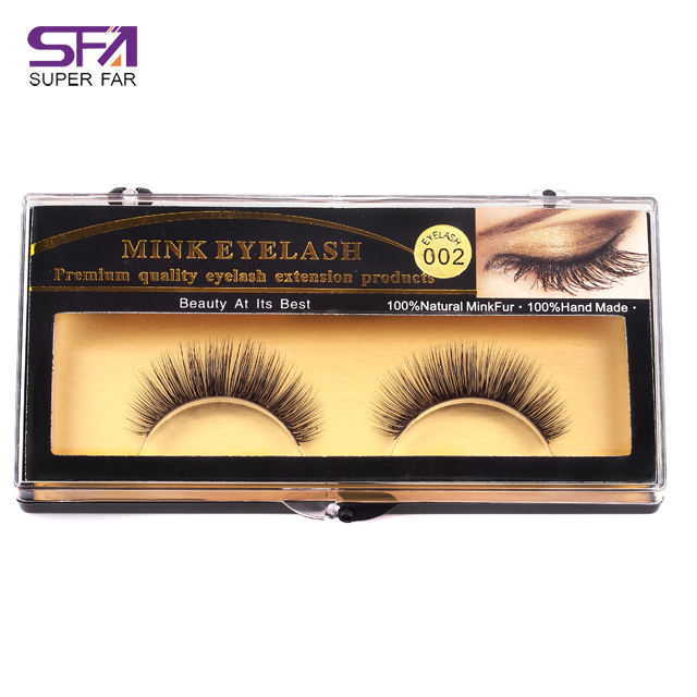 mink fur lashes 100% Real Mink Fur Eyelash