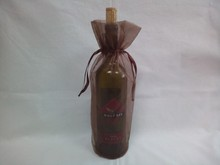 unique design teen favor organza wine bag with string