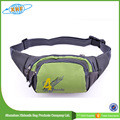 Promotional Leisure Hiking Sport Waist Bag With Zipper Pocket