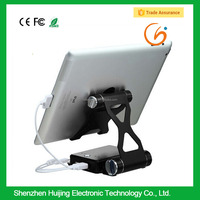2016 Hot new electronic product folding holder tablet bracket power bank for mobile phone ipad