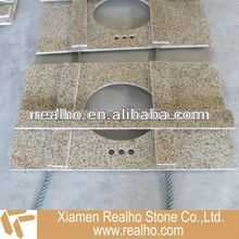 yellow granite vanity tops