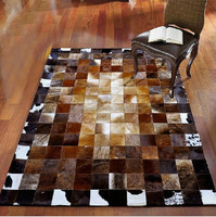 Luxury leather patchwork rugs,stitched leather patchwork rugs, leather patchwork rugs,