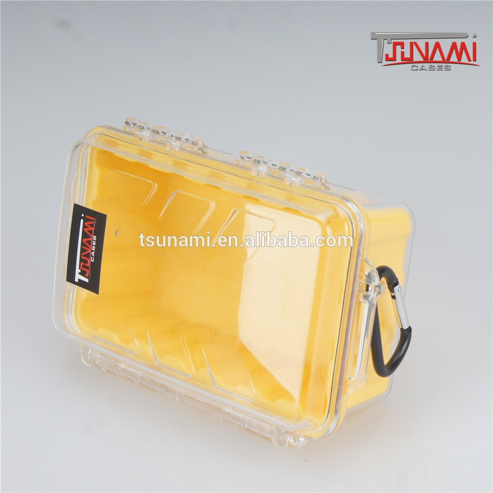 clear domed plastic case