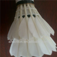 Best sale top quality duck feather for shuttlecock performance oem badminton