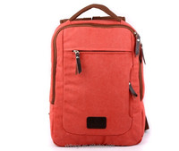Vintage Unisex Canvas Casual Backpack Rucksack Satchel Travel Hiking School Bag