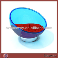 Wholesale Comfortable High Quality Lovely/Funny/Comfortable Blue Bowl Shape Acrylic Pet Bed/Dog Bed/Cat Bed