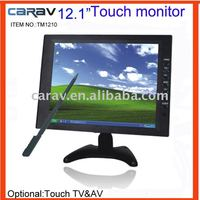 TFT-LCD panel 12.1'' dashboard touch screen monitor for car