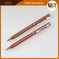 High quality classic metal ballpoint pen with clip for office