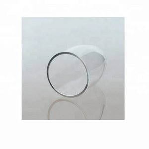 Lab 10ml High purity quartz crucible with high temperature resistance