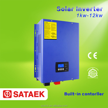 Built-in solar charger Pure sine wave solar inverter 5000w