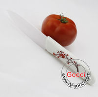 "5"" Kitchen Knife Cook Tool Chef Cutlery white Blade Advanced Ceramic Knife"