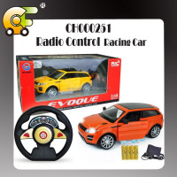 1:16 five channels remote control car with light & charger& open door function 2 colors