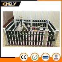 Professional hot sale Factory Price strong pvc plastic pet fence