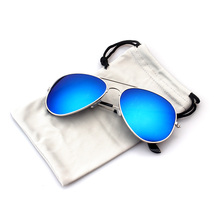 China YNJN gold frame uv400 aviator custom polarized men 2017 sunglasses