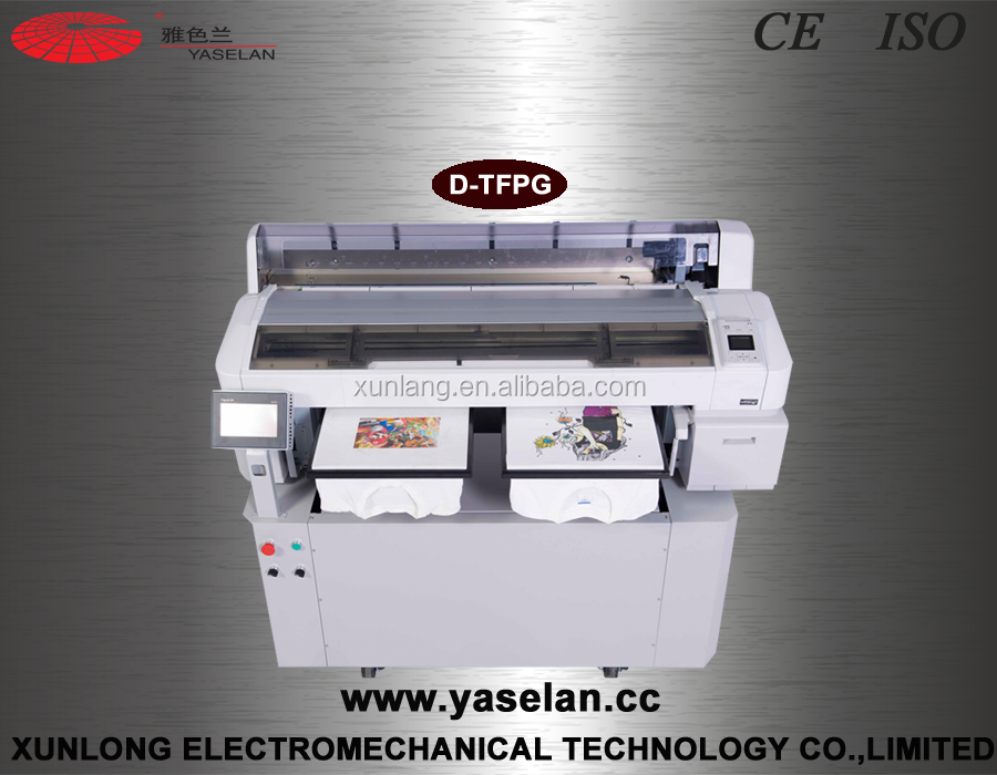 Yaselan Auto-cleaning EP TFP T-shirt Printer For Hot Sale
